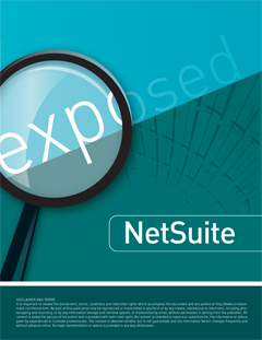 NetSuite CRM Exposed Free Report